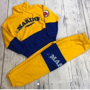 Vintage United colors of Benneton sweatsuit
